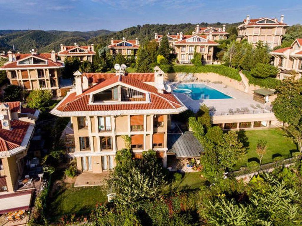 5 Room Luxury Villa For Rent In Ormanada Zekeriyakoy