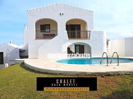 Villa in Cala Morell, Province of Balearic Islands