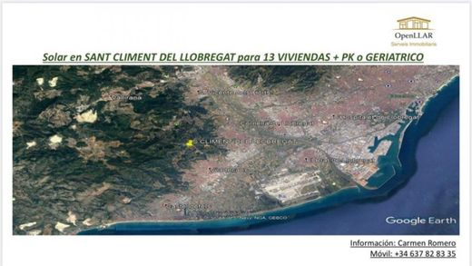 Land in Sant Climent de Llobregat, Province of Barcelona